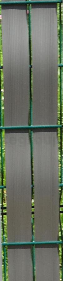 brise vue cl ture pvc gris 60m maille 50mm. Black Bedroom Furniture Sets. Home Design Ideas