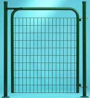 Portillon GARDEN Vert Hauteur 1.50m