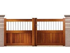 Portail & portillon bois