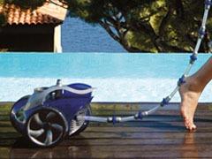 Balai surpression automatique piscine