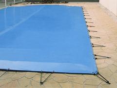 Couverture hiver de piscine