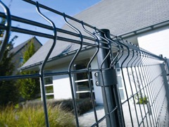 Panneau clôture rigide résidentielle